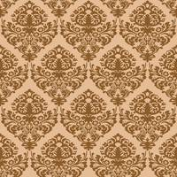 damask brown seamless texture