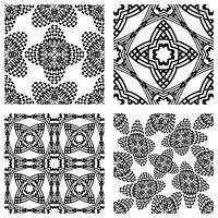 op art monochromatic patterns 2