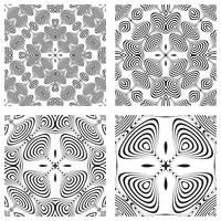 op art monochromatic patterns 3