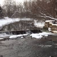 Waterfall in the Winter Art Prints & Posters by Jim Orcutt