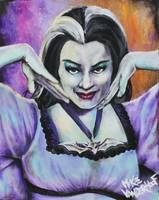 Lillian Munster by: Mike Vanderhoof KINGMIKEV.com