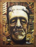 Steampunk Frankenstein by: Mike Vanderhoof