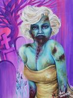 Zombie Marilyn by: Mike Vanderhoof