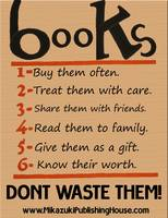 Books - Don't Waste Them