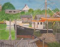 Fishing Boats - Menemsha Harbor