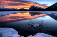 Vermillion Lakes Mount Rundle