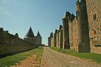 Road in Carcassonne