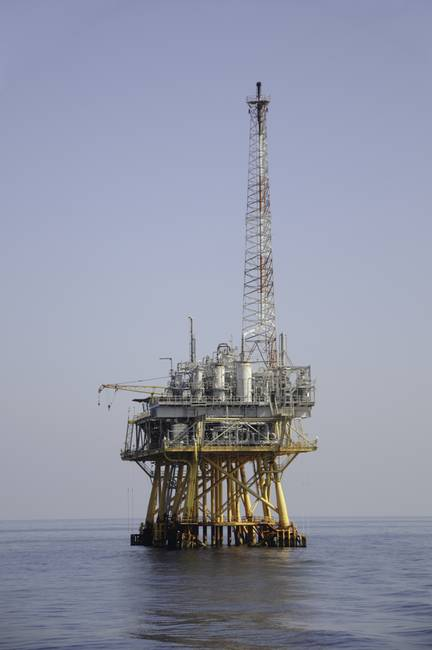 Offshore gas production platform