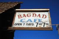 Route 66 - Bagdad Cafe Sign 2012