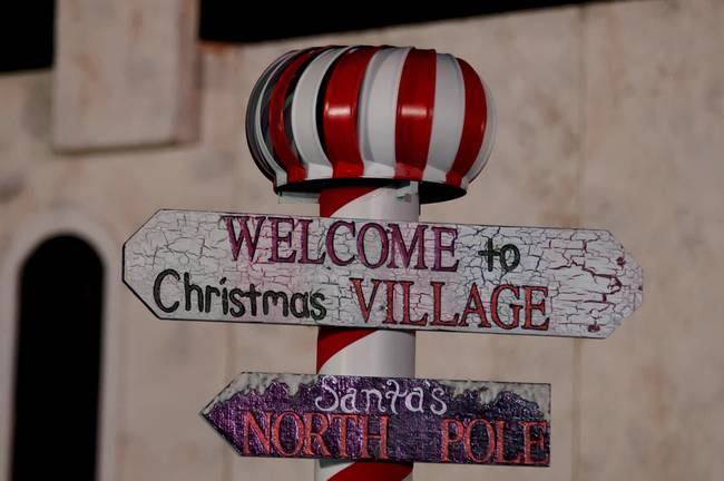 welcome to christmas village