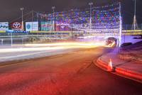 christmas lights at lowes motor speedway