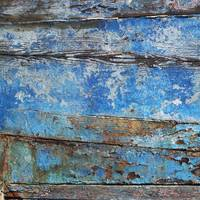 rustic blue paintwork