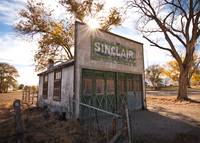 Old Sinclair Station by David Kocherhans