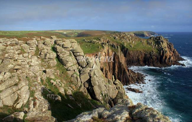 The cliffs around Lands End