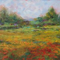 Autumn Field by Beth Charles