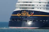 Disney Dream cruise ship  stern