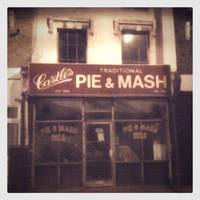 Pie and Mash Shop Camden Town, London