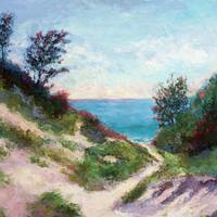 Saugatuck Beach by Beth Charles