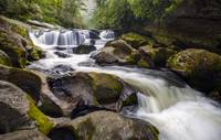 Chattooga River Potholes Waterfall Highlands NC -