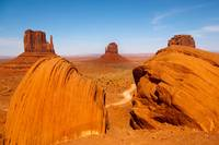 Boulders at Monument Valley