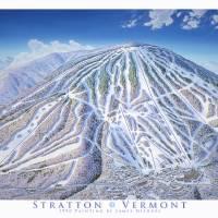 """""""Stratton Vermont"""" by jamesniehuesmaps"""
