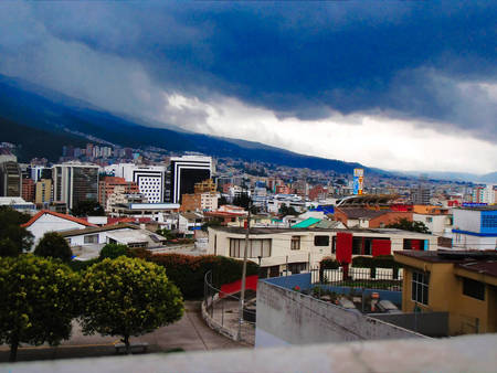 Storm Clouds Over Quito
