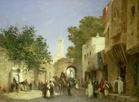 Arab Street Scene, 1872 (oil on canvas)