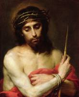 Christ the Man of Sorrows (oil on canvas)