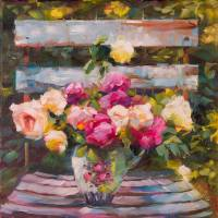 Garden Seat by Beth Charles