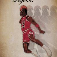 """Michael Jordan: Legend"" by joeyb8181"