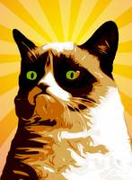 Tard - Grumpy Cat - Pop Art