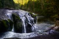 Lower Lewis Falls by Joshua Cramer