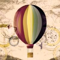 Hot Air Balloon by Lisa Rich