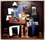 "Picasso ""Three Musicians"" reprint"