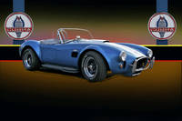 1966 Shelby Cobra w/Labels
