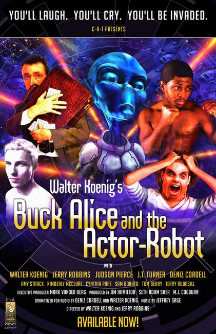 """Buck Alice and the Actor Robot"" Promo Poster"