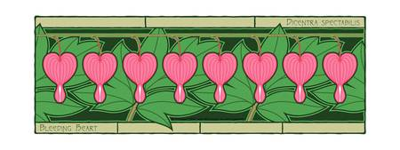 Eight Bleeding Hearts