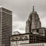 Detroit Cityscape - Penobscot Building by James Howe