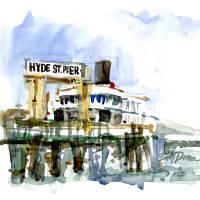 """Hyde Street Pier"" by WilliamDunn"
