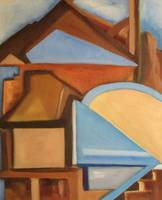 Denver Original Abstract Oil Painting