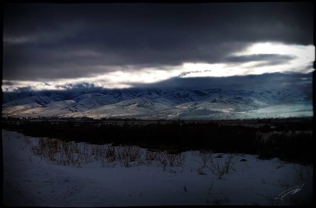 Pocatello Nightfall
