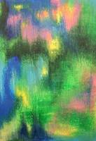 Abstract about Spring Forest