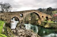 Medieval bridge in Asturias