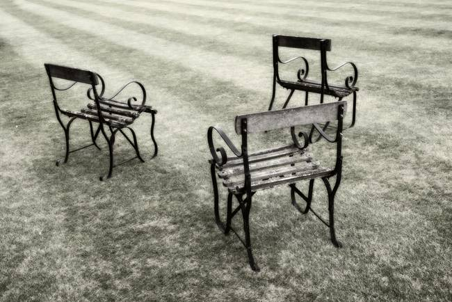 Lawn Chairs, Trinity College, Oxford