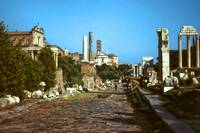 The Forum, Rome, Summer Evening 1961
