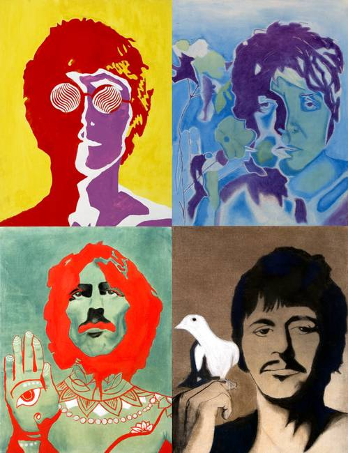Stunning The Beatles Drawings And Illustrations For Sale On Fine