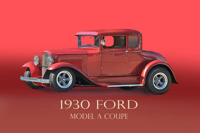 1930 Ford Model A Coupe w/ ID