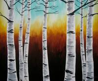 Large Birches
