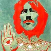 """""""George Harrison"""" by axemangraphics"""