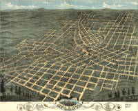 Vintage Pictorial Map of Atlanta Georgia (1871)